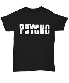 Psycho Alfred Hitchcock Norman Bates Motel Classic Horror Movie Shirt Tee T-shirt S - 5XL 6 Colours Printed, Made, And Shipped From The USA Professional High-Quality Digital Direct-On-Garment Printing. We Use Only Industry-Leading Kornit Avalanche 1000 Printers (one of the most