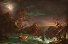 The Voyage Of Life, Manhood by Thomas Cole