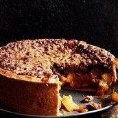 Яблочный пирог к завтраку