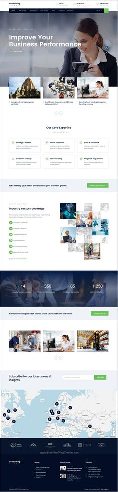 ConsultingPress is a wonderful responsive HTML #Bootstrap template for #corporate business websites with 4 #consulting niche ready layouts download now➩ https://themeforest.net/item/consultingpress-multi-niche-consulting-html-template/19245182?ref=Datasata