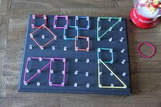 This idea is super cool...could be used for shapes, colors, sensory play, etc.