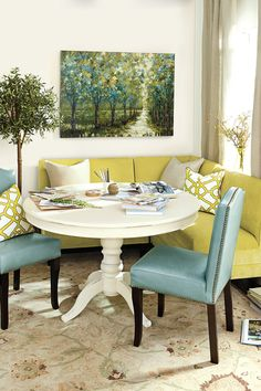 Awesome Round Dinning Table Design Ideas - Page 53 of 70 Decor, Dining Room Remodel, Corner Bench Dining Set, Dining Room Small, Dining Set With Bench, Dining Room Design, Small Dining Room Furniture, Dining Room Decor, Dining Chairs