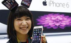 Popularidade do iPhone 6 e iPhone 6 Plus aumenta na Ásia