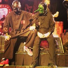 Sid Wilson DJ Starscream Slipknot  Sid & Chris #starscream #fehn #slipknot #knotfest #maggot #sick #hate #0 #3