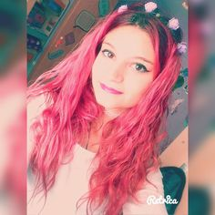 #pink #forever #always #flower #tumblr #style #japanese #haircolor #crazycolor #fantasy #manga #makeup #goals #weheartit #love #sunday #belieber #pambisita #sunshine by thaaiiss21