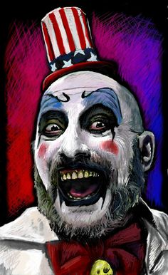 I drew this one ages ago with pastels on a3 paper, n people liked it n apparently Sid Haig himself was impressed with it. But it fucked me off, so I fixed it, n now it looks like this. I felt like ...
