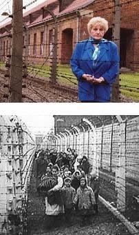 """Eva Kor is a Holocaust survivor and victim of Dr. Josef Mengele's medical experiments on twins at Auschwitz. Mengele was given the name """"Angel of Death,"""" because of his position as a SS physician in charge of selecting which new prisoners of the camp would be killed or selected for forced labor. Kor and her sister launched a search for other twins who survived Mengele's experiments and located 122 individual survivors. She founded C.A.N.D.L.E.S. #Holocaust museum in Indiana."""