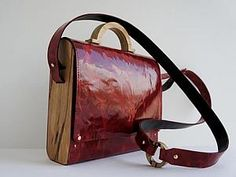 Делаем сумку из дерева и кожи. Часть 2 | Ярмарка Мастеров - ручная работа, handmade