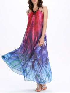 GET $50 NOW | Join RoseGal: Get YOUR $50 NOW!http://m.rosegal.com/print-dresses/v-neck-tie-dye-backless-maxi-dress-511801.html?seid=9210807rg511801