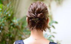 HAIR(ヘアー)はスタイリスト・モデルが発信するヘアスタイルを中心に、トレンド情報が集まるサイトです。10万枚以上のヘアスナップから髪型・ヘアアレンジをチェックしたり、ファッション・メイク・ネイル・恋愛の最新まとめが見つかります。 Bob Hairstyles, Wedding Hairstyles, Hair Arrange, Hair Setting, Bridal Hair, Bangs, My Hair, Style Me, Short Hair Styles