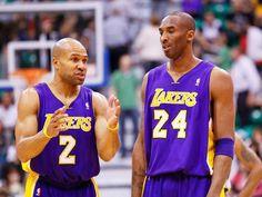 Derek Fisher & Kobe Bryant | Lakers Nation