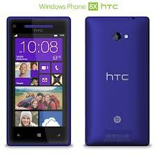 HTC Windows 8X 16GB T-Mobile Smartphone Cell Phone Blue  Resistance: Gorilla Glass 2 (scratch resistant glass) Integrated Components: 2nd camera Width: 2.6 in Depth: 0.4 in Height: 5.2 in
