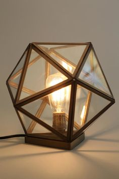Magical Thinking Geo Table Lamp (Tech Home Urban Outfitters)