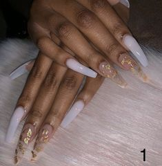 Semi-permanent varnish, false nails, patches: which manicure to choose? - My Nails Bright Summer Acrylic Nails, Acrylic Nail Set, Best Acrylic Nails, Acrylic Nail Designs, Summer Nails, Clear Acrylic, Marble Acrylic Nails, Gel Polish Designs, Colored Acrylic Nails