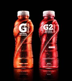 Gatorade G Series Rebrand by Tether