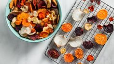 Crispy Seasoned Vegetable Chips. This all-purpose chip recipe is all about options: choose one of the veggies listed, then pick your favorite seasoning.