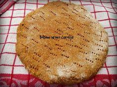 BRZA HRONO POGAČA (za svaki dan u restrikciji ) pogača   potrebne namirnice : 200 gr speltinog brašna 100 gr ovsenog brašna...