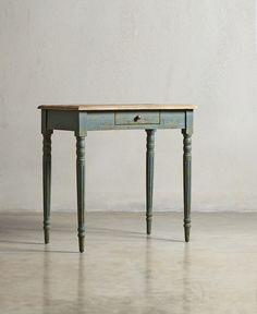 The MARYLEBONE Desk - Cornflower Blue - swooneditions.com