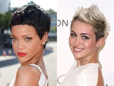 In Your 20s: Be Fearless with Famous Singers Miley Cyrus And Rhianna.
