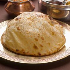 Découvrez la recette du naans indien au fromage