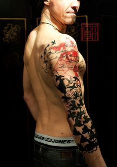 A Poem For Bastian - artwork and tattoo by Jamie - Tattoo Temple Hong Kong    www.tattootemple.hk