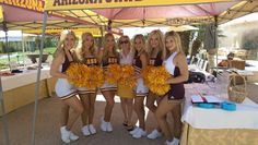 Adidas took care of the Sun Devil spirit squad also. Check out their new look which is more traditional. ‪#‎DieHardAngels‬ ‪#‎ForksUp‬