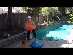 1, 2, 3, Jump! Side Squats- Bosu, Step, or Floor- Trainer In Your Back Pocket - YouTube