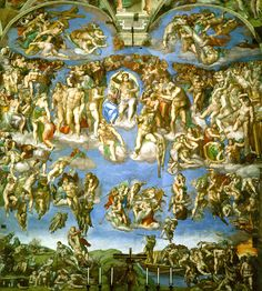 Last Judgement by Michelangelo - Michelangelo - Wikipedia, the free encyclopedia
