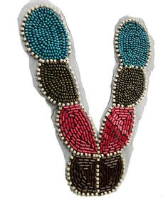 Colorful Neck Lace Collar With Beads by OsMarket on Etsy, $10.99