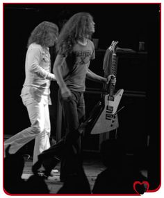 Allen Collins, Billy Powell Spokane 10-7-76 Ben Upham, Photographer