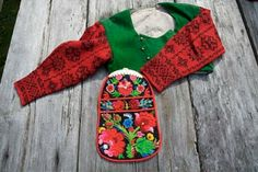 From the beginning everything looked the same to me, but we quickly learnt to distinguish between older and slightly newer embroidery and kn...
