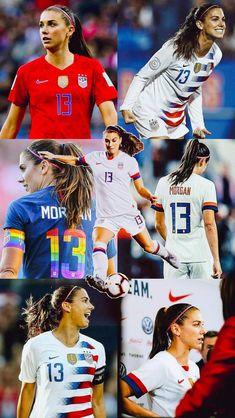 Football Girls, Girls Soccer, Nike Soccer, Soccer Cleats, Solo Soccer, Soccer Sports, Megan Rapinoe, Fc Hollywood, Morgan Usa
