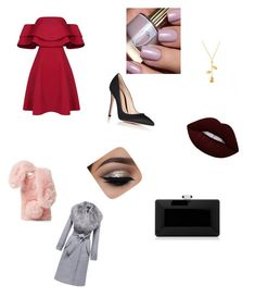 """Blind Date"" by coolpersons-5 on Polyvore featuring Gianvito Rossi, Ashlyn'd, Lime Crime, Judith Leiber and Sentaler"
