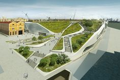 Ponte Parodi, centro comercial de UNStudio