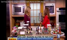 Get Your Kitchen Organized with these quick video tips from Kathi BUrns, CPO® on CW 6 News