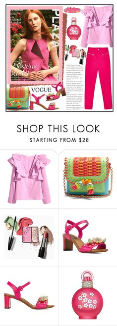 """""""PINK AND FUSCHIA!!!"""" by kskafida ❤ liked on Polyvore featuring Sophia Webster, Dolce&Gabbana, Britney Spears and RED Valentino"""