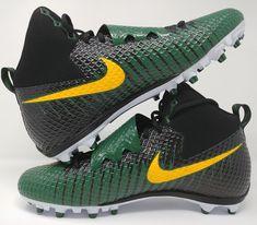 Nike Lunarbeast Strike Pro Mens Football Cleats Green Yellow Black Size  14.5 New e6f71b94b