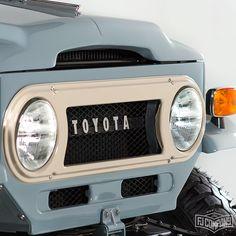 1971 Toyota LandCruiser FJ43 Grey.