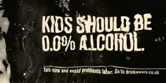 Drinkaware: Kids