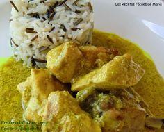Pollo al Curry con Coco y Jengibre Asian Recipes, Healthy Recipes, Ethnic Recipes, Healthy Food, Pollo Chicken, The Best, Dairy Free, Chicken Recipes, Healthy Lifestyle