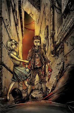 Bloodlust: Cryweni történetek antológia - A neopolisz gyermekei novellaborító Comic Book Covers, Comic Books, Fantasy Comics, Short Stories, Cyberpunk, Art Drawings, Children, Fictional Characters, Color