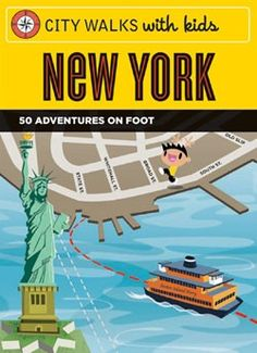 City Walks with Kids: New York  One day we'll finally take the kids to New York, and when we do this will come in very handy.  #GiveBooks @ChronicleBooks