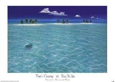 Dan Mackin Turtle Crossing Varnished