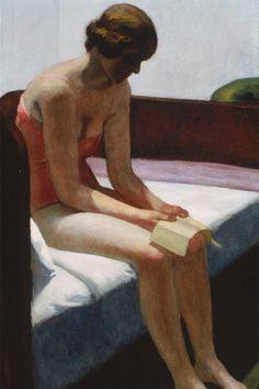 Edward Hopper_Hotel room