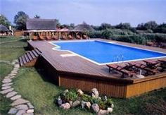 Above Ground Pools Decks Idea - Bing Images wow some look really cool we could do something like this!