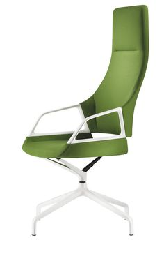 GRAPH green conference chair | Design by jehs + laub | By Wilkhahn | #graph