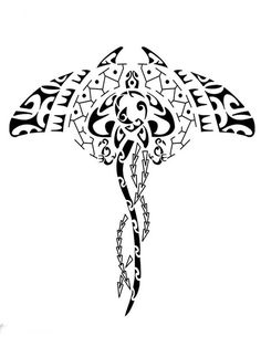 """Képtalálat a következőre: """"maori water tattoo"""" Love Tattoos, Body Art Tattoos, New Tattoos, Tribal Tattoos, Small Tattoos, Tattoo Maori Perna, Manta Ray Tattoos, Stingray Tattoo, Maori Symbols"""