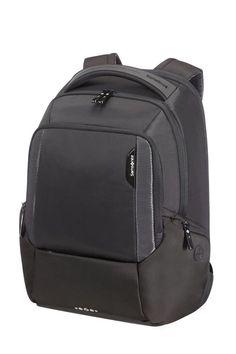 Mega fede Samsonite Cityscape rygsæk, sort  Hardcase kufferter til Kufferter i lækker kvalitet