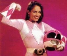 "Kimberly Ann Hart / The Pink Ranger ""Amy Jo Johnson"" The Mighty Morphin Power Rangers"" (1993-1995)"