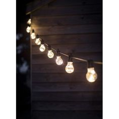 Give your garden a wonderful ambiance with the Festoon LED Outside Lights from Garden Trading, available in 2 sizes offering either 10 or 20 bulbs. Led Outside Lights, String Lights Outdoor, Hanging Lights, Outdoor Lighting, Festoon Lights, Lighting Ideas, Outdoor Mirror, Outdoor Fairy Lights, Landscape Lighting
